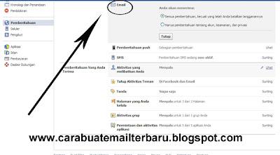 Cara Agar Pemberitahuan Facebook Tidak Masuk Ke Inbox Email