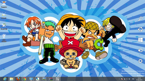 One Piece Theme For Windows 8