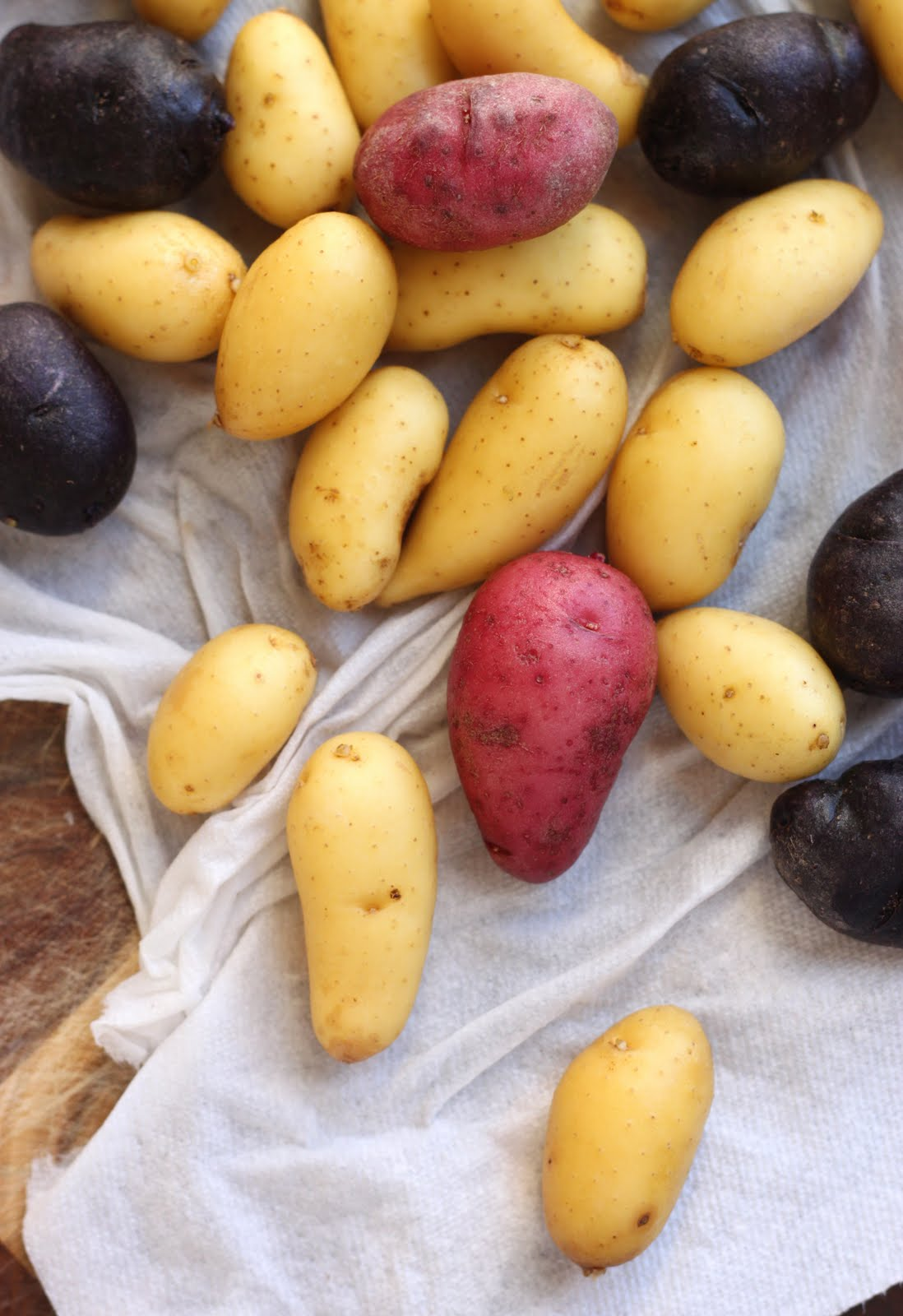 The cilantropist herb roasted fingerling potatoes - What to do with potatoes ...
