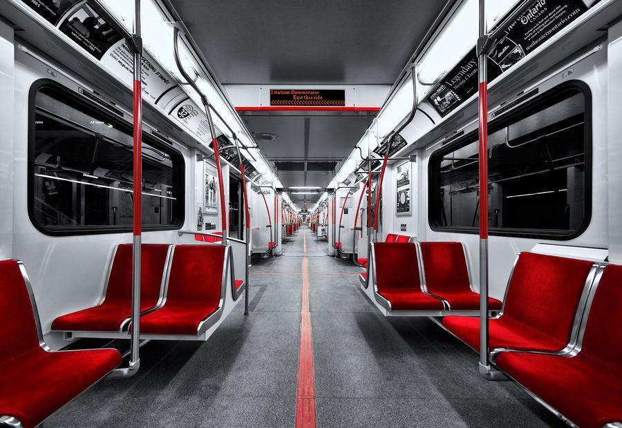 1. The New Subway Train in Toronto by Roland Shainidze