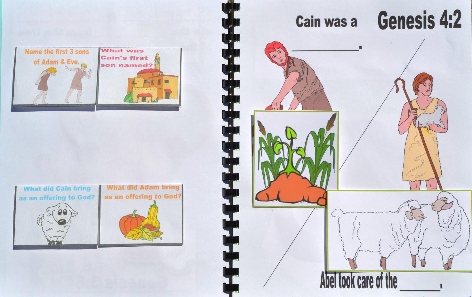 Cain and abel craft ideas - Www Biblefunforkids Com