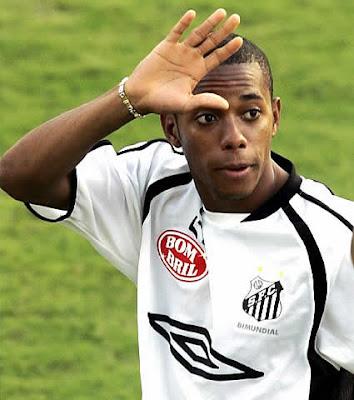¡Robinho regresaría al Santos de Brasil!