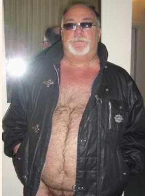 leatherjacket_1 Leather Jacket Hairy Bear Chub Daddy