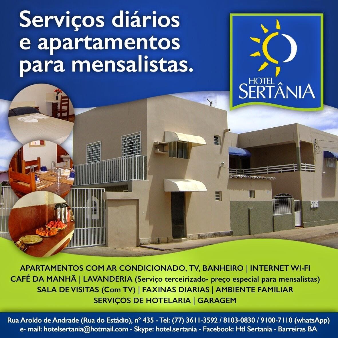 HOTEL SERTÂNIA *3611-3592