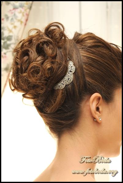 Fotoboda fotografos de boda en granada peinados para - Peinados recogidos novias ...