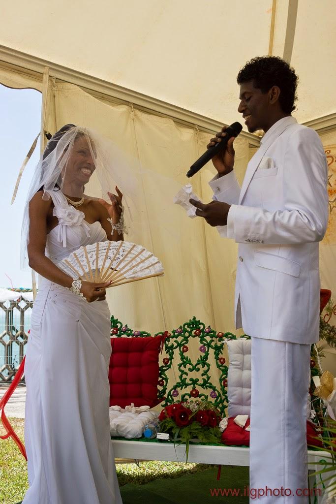 le marié improvise un discours