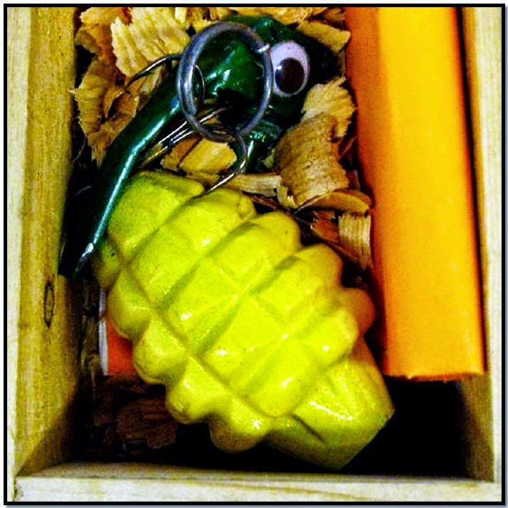 Inert Grenade Fishing Lure (ANC)