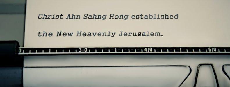 Christ Ahn Sahng Hong established the New Heavenly Jerusalem