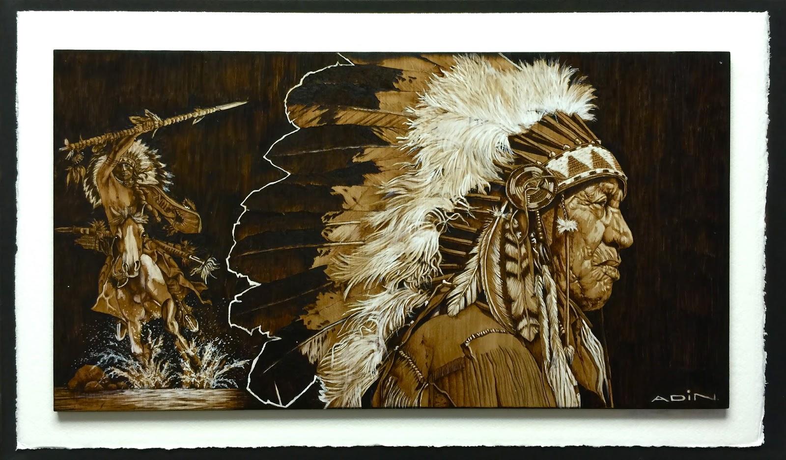 my pyrography  pyrography art by adin begic - wood-burning