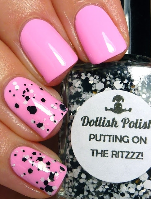 Parfait Day, Lime Crime, Putting on the Ritzzz!, Dollish Polish, swatch