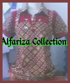 busana batik blus