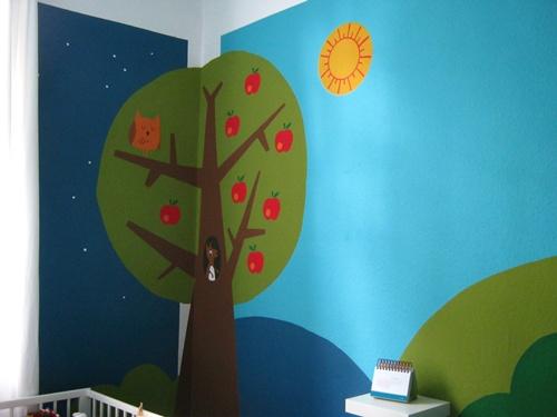 Filzekater kinderzimmer wip die zweite - Mondlampe kinderzimmer ...