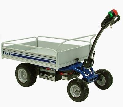 Powered Cart Electric Platform Truck ModJespi Made By Zallys