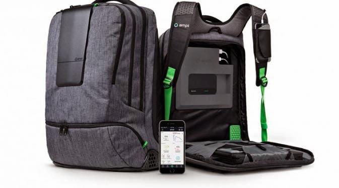 Terbaru Tas Canggih Berkapasitas Baterai Untuk Semua jenis Gadget