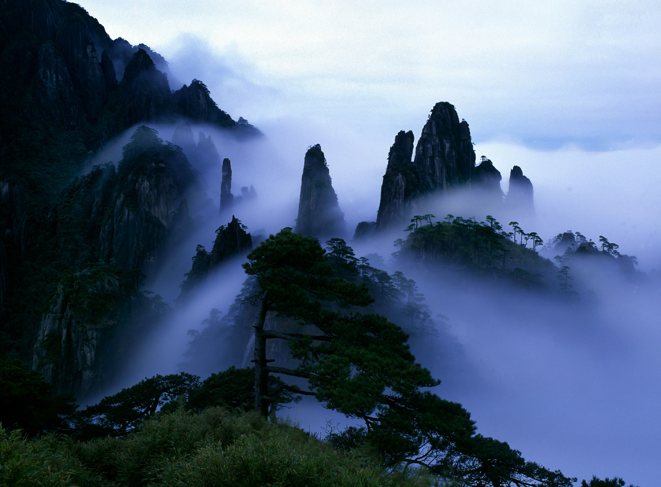三清山 sanqing mountain