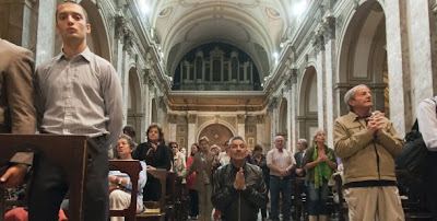 Bergoglio, nuevo Papa: miles de fieles festejan en la Catedral Metropolitana 0000981682