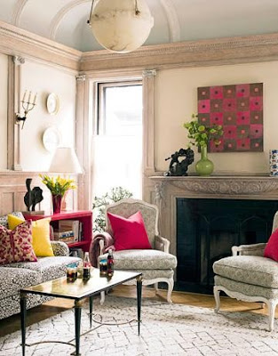 south shore decorating, conspicuous style, best interior design blog, best interior decorating blogs, interior designers, interior decorators, pink and yellow rooms, stacy curran