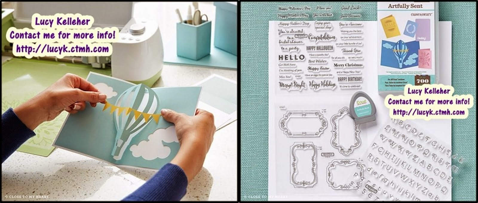 Artfully Sent Cricut Cartridge (Exclusive to CTMH!)
