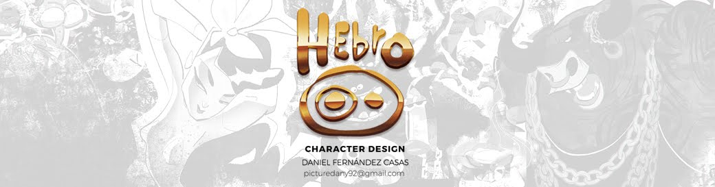 hebro character design