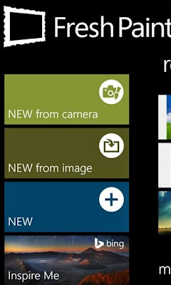 Fresh Paint updated for Windows Phone with Front-facing camera support, new pencil, Bing integration, and SkyDrive sync