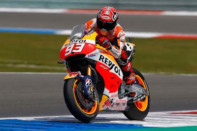 Balas Dendam ke Rossi, Seperti Apa Serangan Marquez di Sachsenring Nanti?