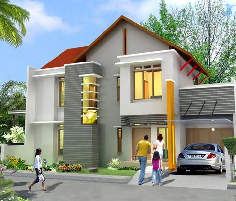MacamMacam Gambar Rumah Sederhana Terbaru  Desain Denah