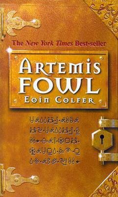 The cover of Artemis Fowl by Eoin Colfer