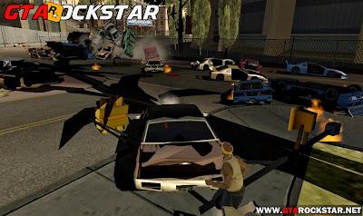 GTA SA - Mod Atirar Carros