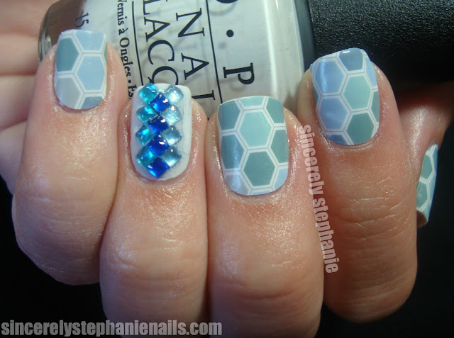 jamberry nail shields blue hex