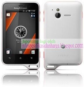 Spesifikasi Sony Ericsson Xperia Active ST17i Terbaru 2012