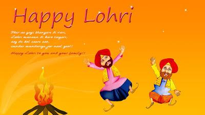punjabi lohri wallpaper