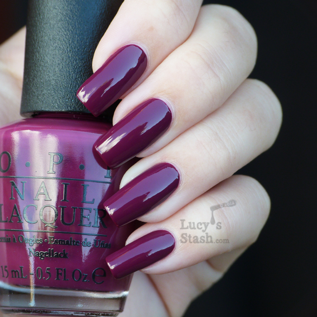 Lucy's Stash - Casino Royale from OPI Skyfall Collection