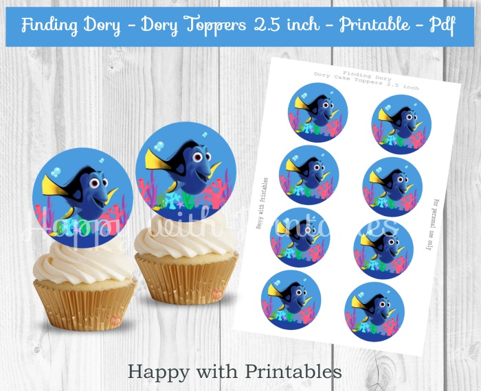 FINDING DORY PRINTABLES