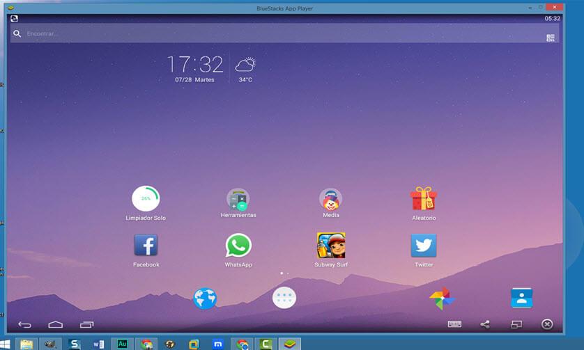 Instalar Apps & Juegos Android en PC con BlueStacks