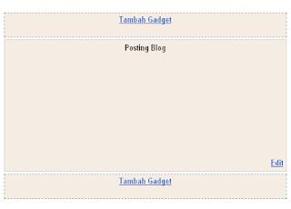 Cara Membuat Tata Letak Di Atas Posting Blog