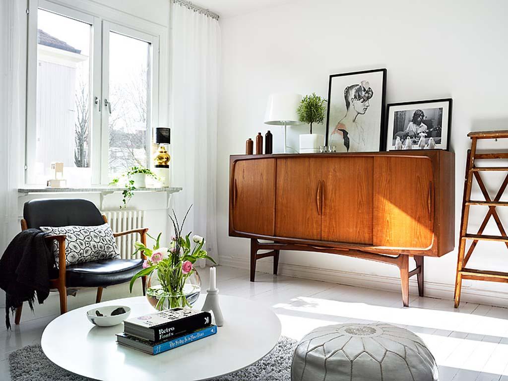 Дизайн интерьера 60-х годов
