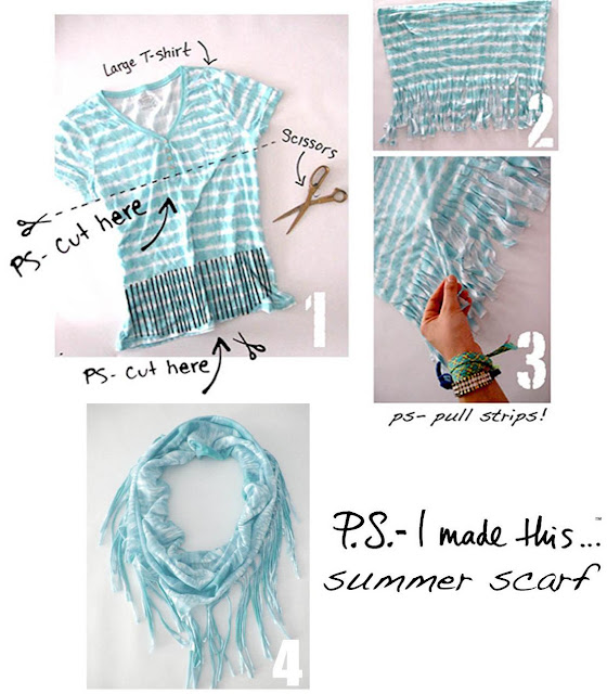 Cool Ways to Reuse Old T-Shirts (50) 7