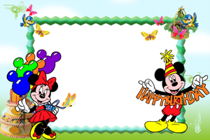 Mickey Mouse Frame