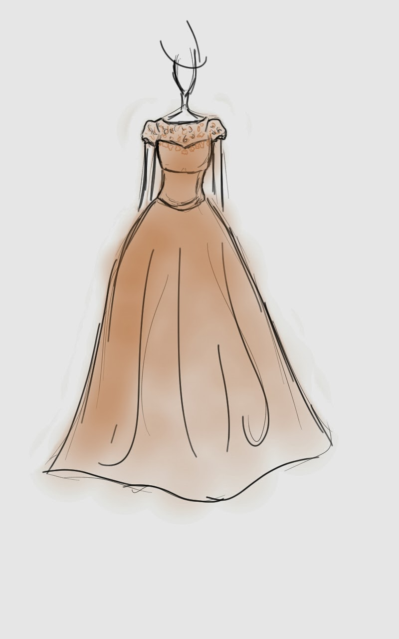 Summer dress sketches