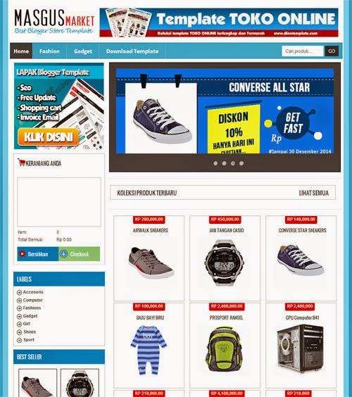 21 template toko online terbaru gratis - irwantea sosial, Invoice examples