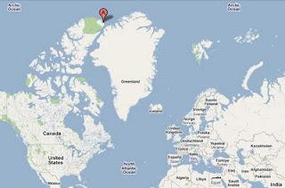 Alert Nunavut Canada Carte