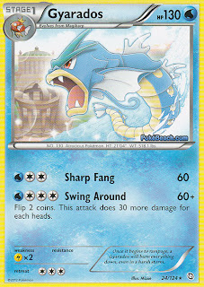 Gyarados Dragons Exalted Pokemon Card