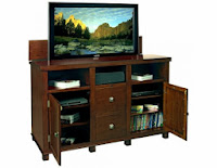 TV Lift Cabinet with the Most Storage