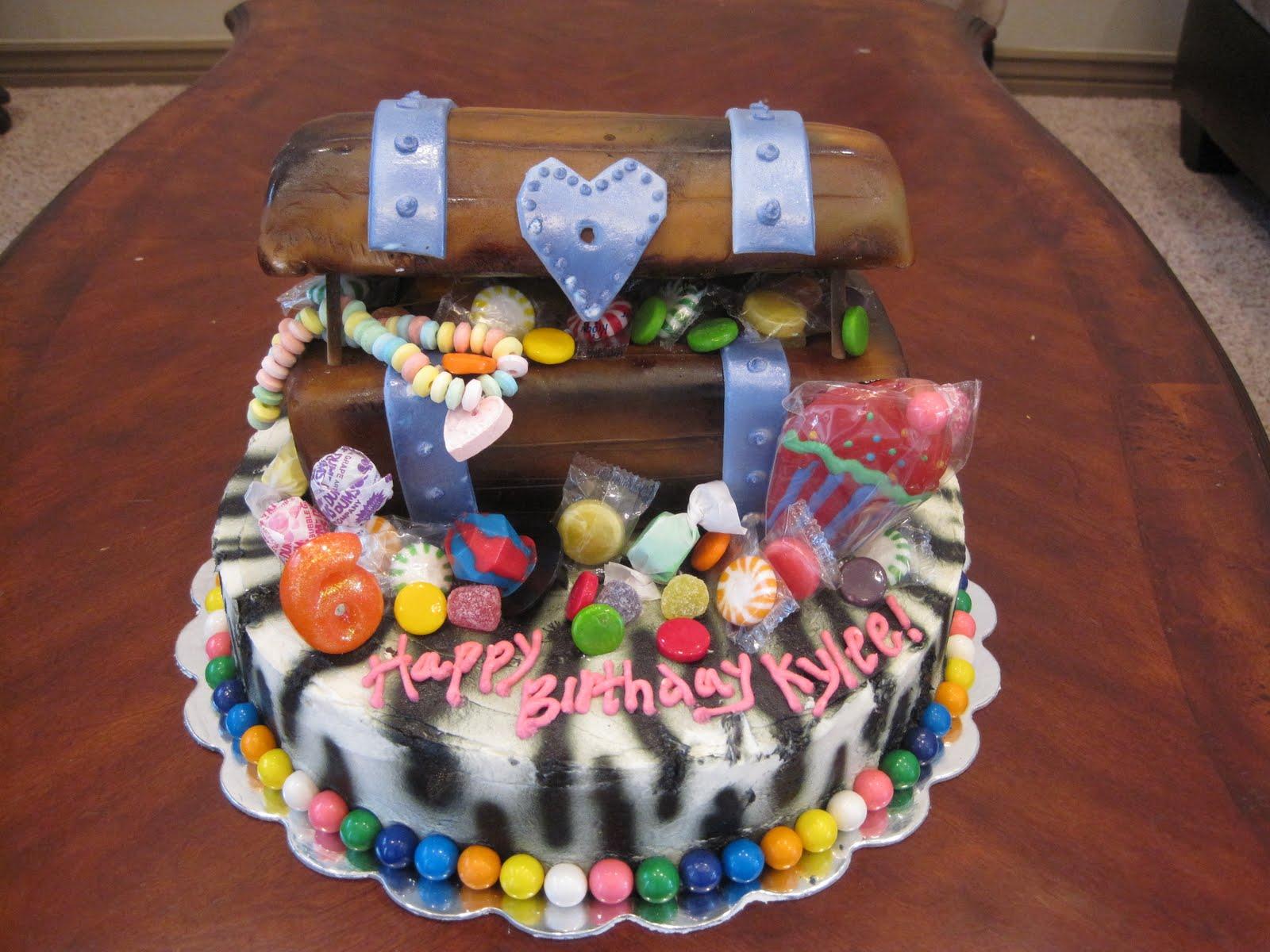 Megans Creations Zebra Pirate Candyland Birthday Cake