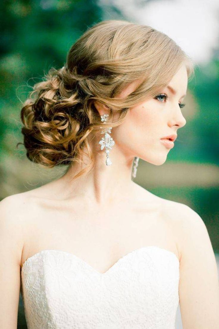 Peinados de graduacion para vestido strapless