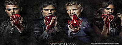 Couverture journal facebook The Vampire diaries