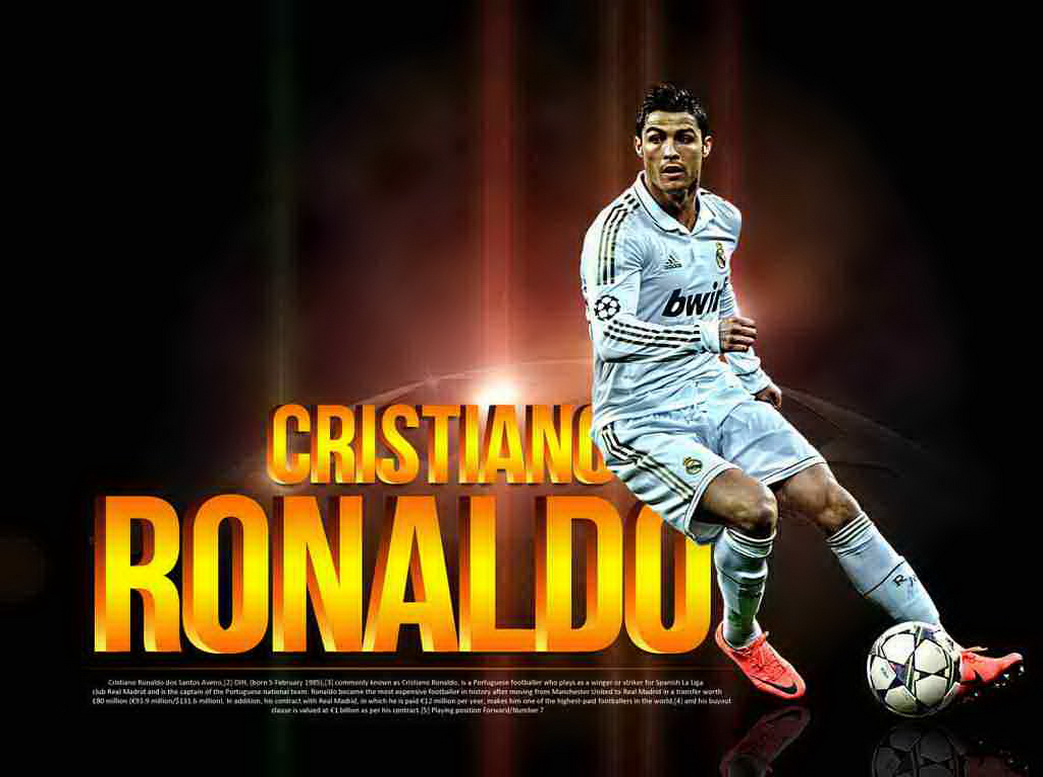 Cristiano Ronaldo Fresh HD Wallpaper 2013