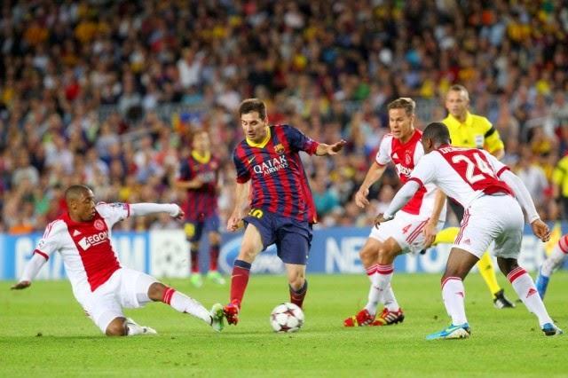 Prediksi Barcelona vs Ajax 22 Oktober
