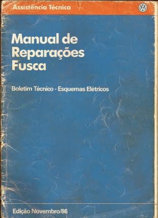 MANUAL DE REPARAÇÕES FUSCA (ELÉTRICA)