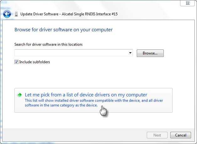 Install driver mediatek dengan manual